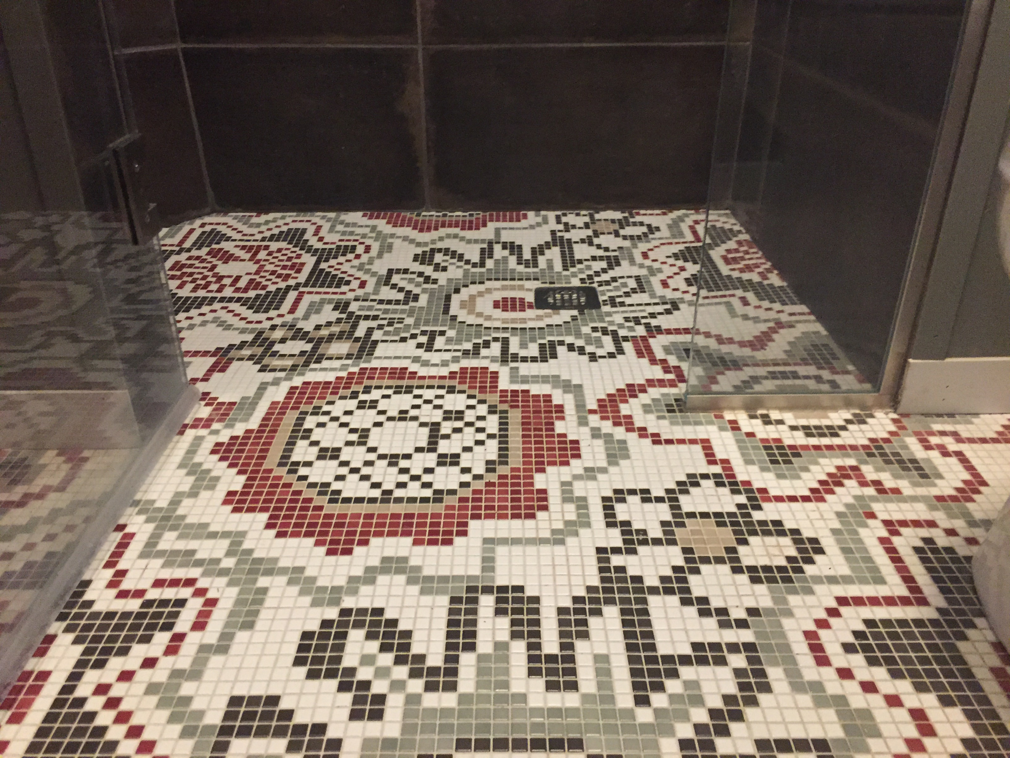 1694 bathroom floor
