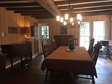 The dining room at Stone Arches.