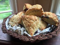 Homemade buttermilk scones