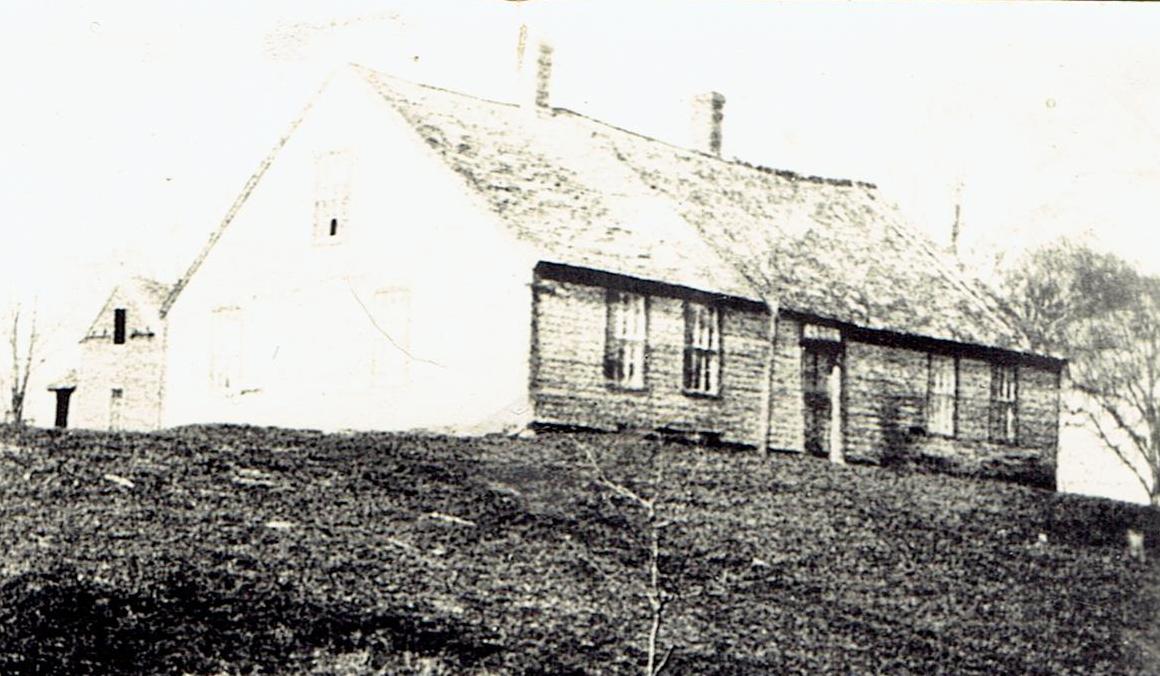 The house c. 1900