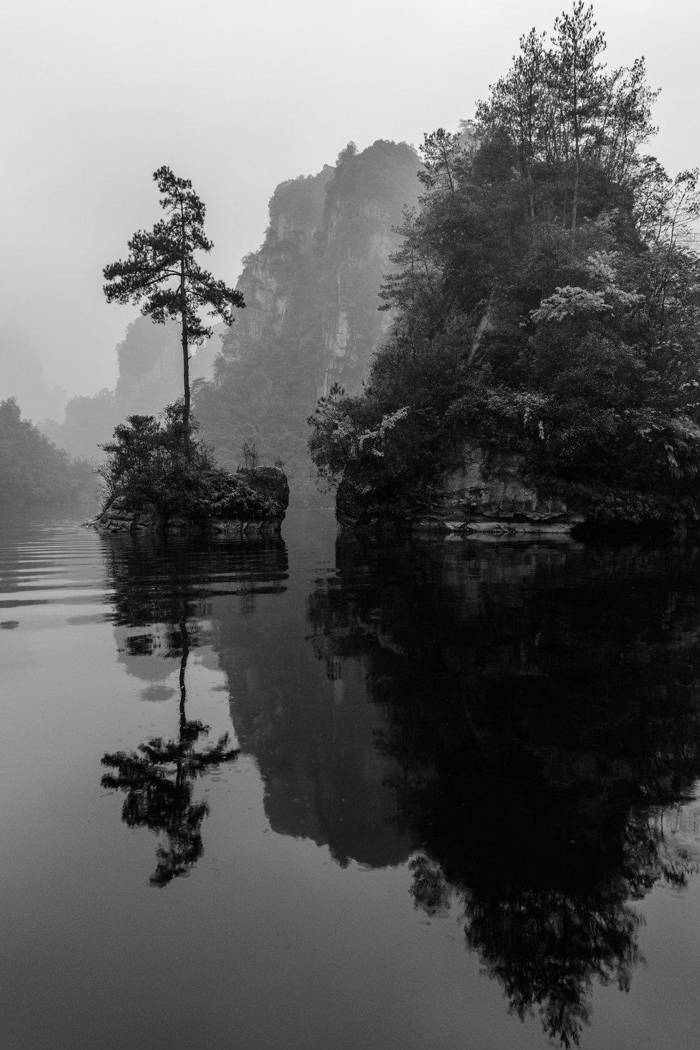 Zhangjiajie Lake Reflection