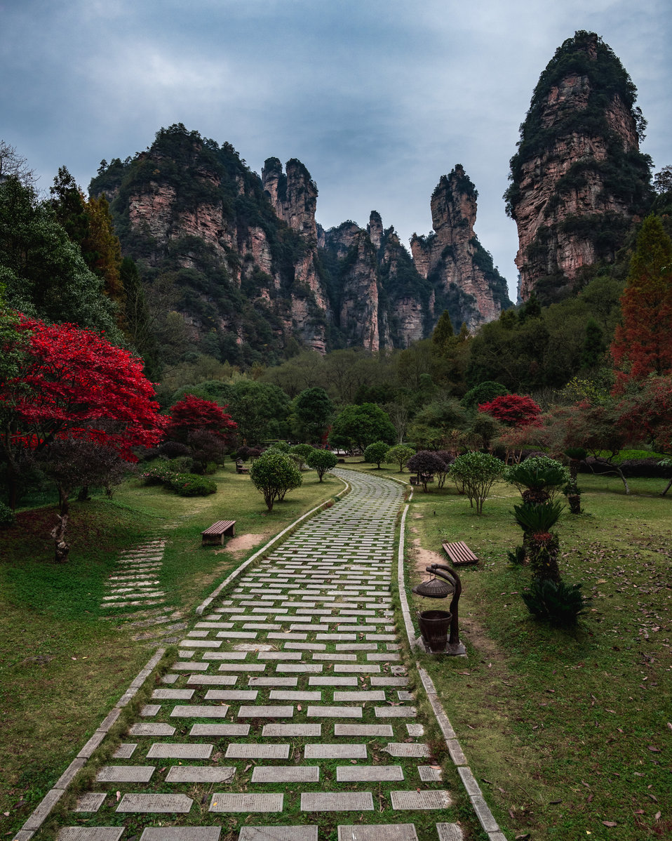 Zhangjiajie Valley