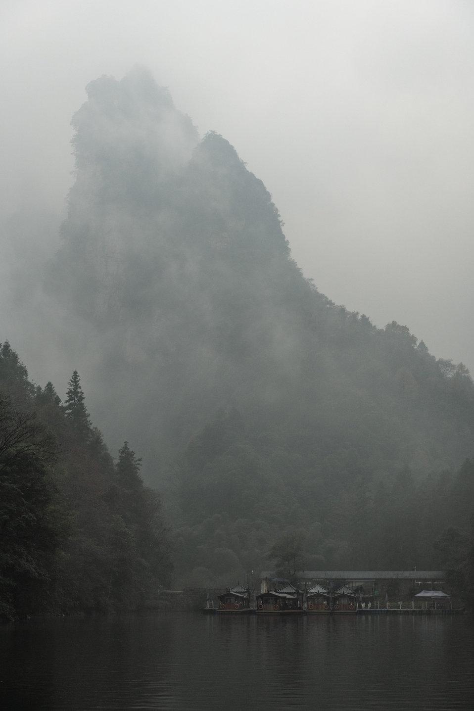 Zhangjiajie Lake Fog