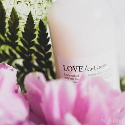 LOVE/ curl cream