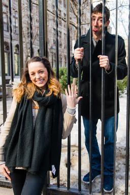 Jeremy behind bars