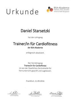 Trainer/in für Cardiofitness