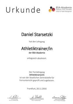 Athletiktrainer/in