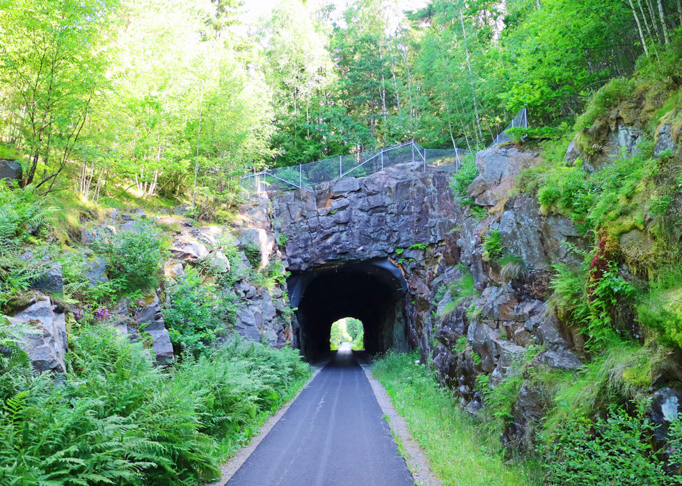 Radwege, alte Zugstrecke