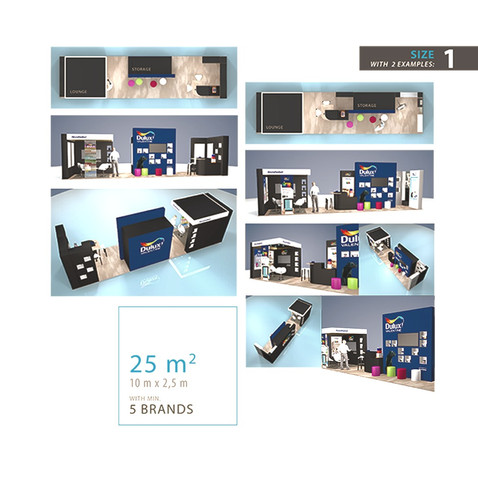 DULUX EXHIBITION STAND SYSTEM