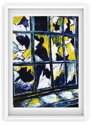 painting / broken windows