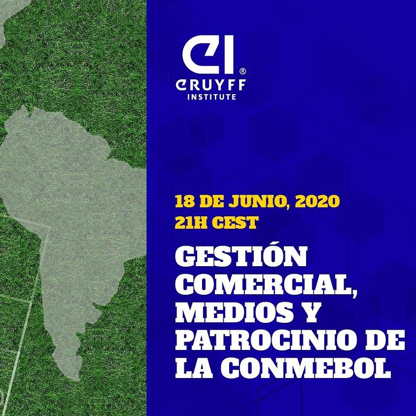 Webinar: Gestión Comercial, medios y patrocinio de la CONMEBOL