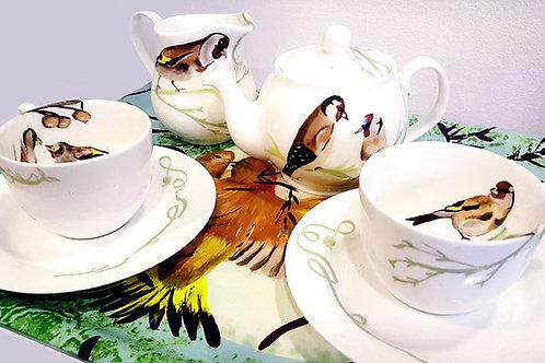 Botanical Birds - Tea for Two Tea Set