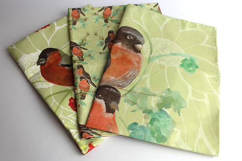 Botanical Birds - Tea Towels (set of 3)