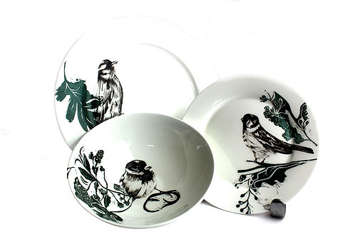 Botanical Birds - side plate