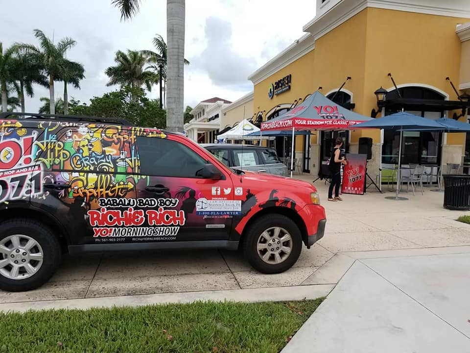 YO107.1 at Delray Marketplace