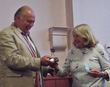 Nickie Bitschi pastel prize