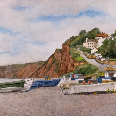 Boats at Budleigh