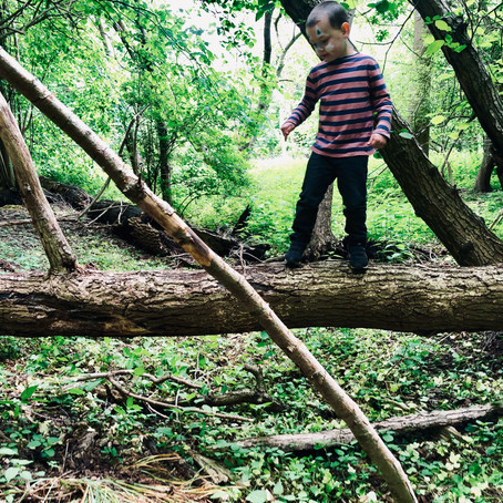 Nature's spell on my kids: recharge on calmness and confidence.