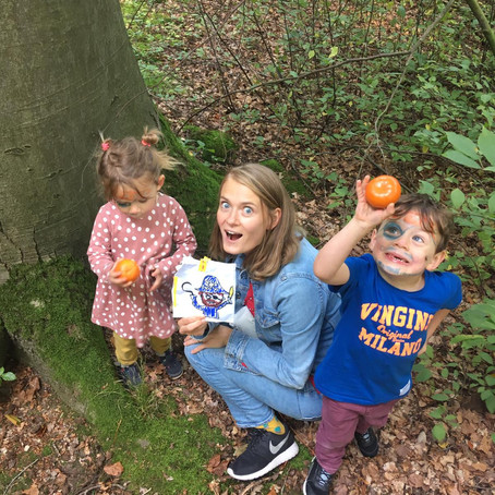 The easiest way to get your kids out: TREASURE HUNT!