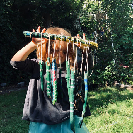 Secret Protectors Mission: How to make a Wind Chime!