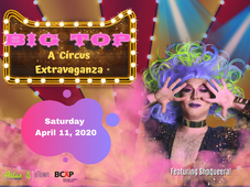 SAVE THE DATE for Big Top: A Circus Extravaganza!