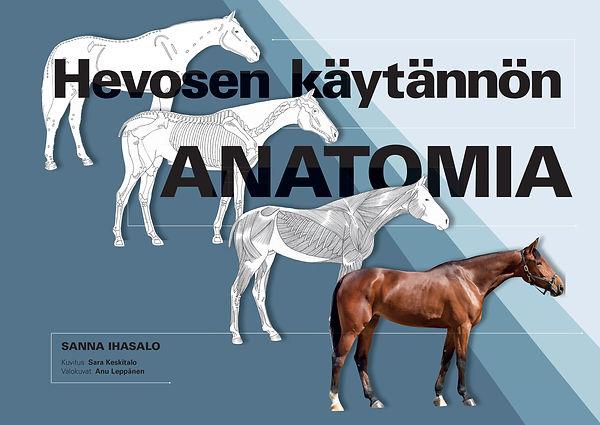 Hevosen käytännön anatomia KANSI PAIN