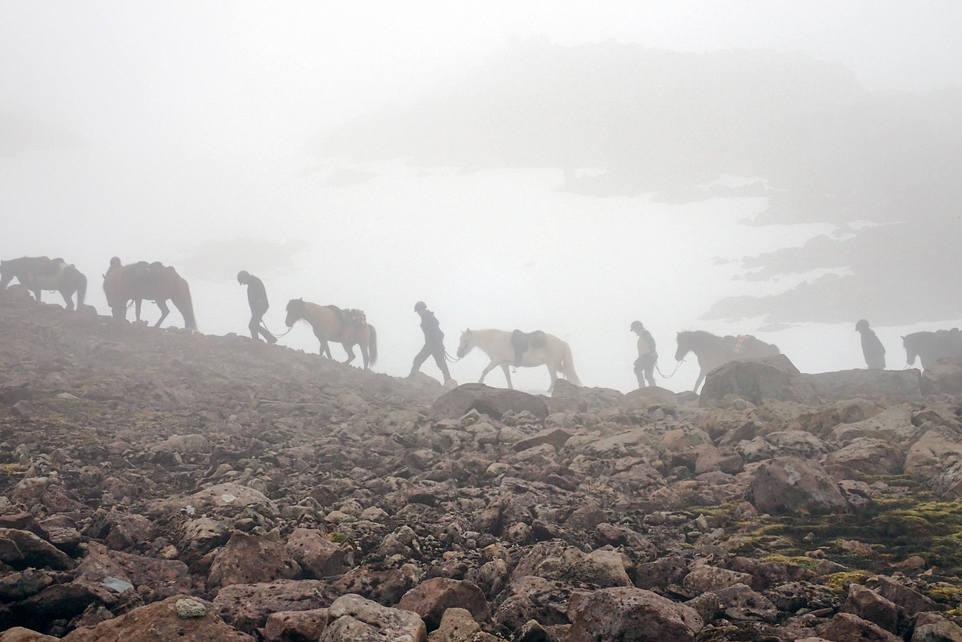 Hevosvaelluksella Islannissa / Horse trip in Iceland, Svartaskarð