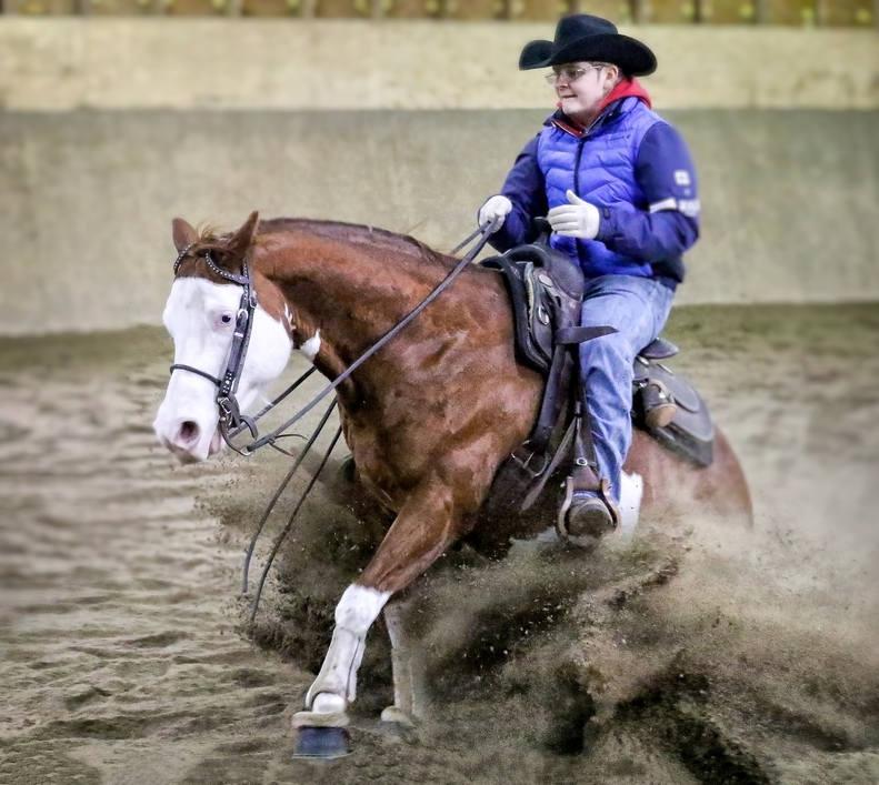 Lännenratsastusta Pete Perkiö / Western riding