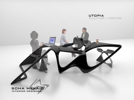 """UTOPIA """" Sculptural Furniture """""""