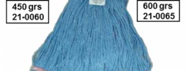 Repuesto Trapeador Azul