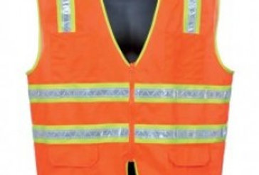 98-5900-O ORANGE SURVEYOR'S VEST