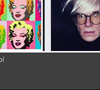 Andy Warhol Drawing Activity