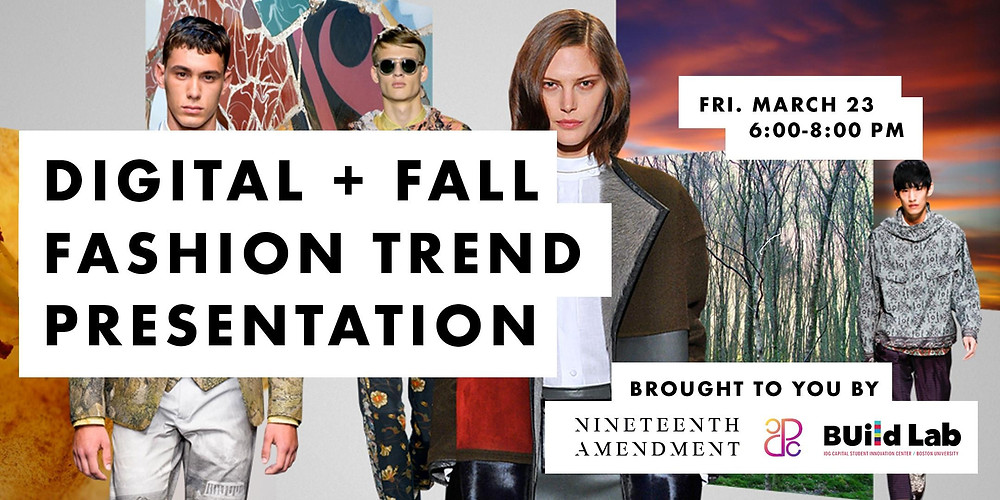 Trend Report: Fall Fashion + Digital Trends