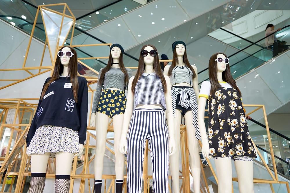 Fast Fashion Designs Image Via Fauborg