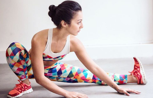 Fun and colourful Rumi X activewear