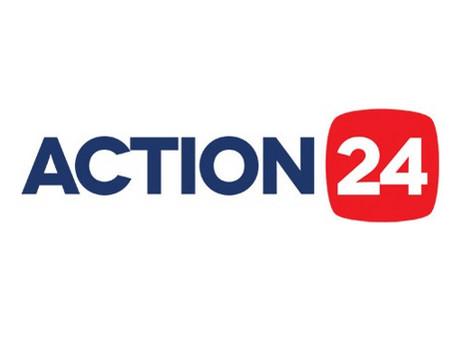 Έρευνα για τις εκλογές, για τον τηλεοπτικό σταθμό Αction 24