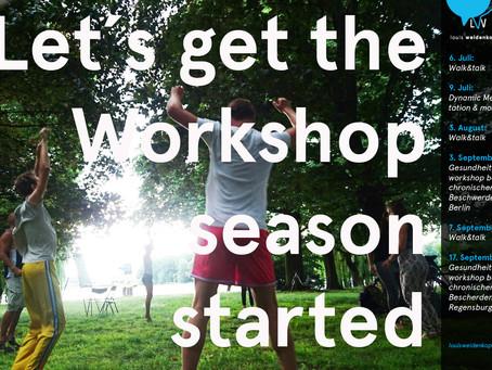 Workshopseason - start!