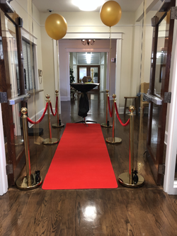Red Carpet-Stanchions-&Rope