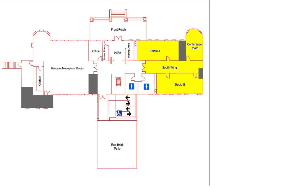 Brawner Hall Layout