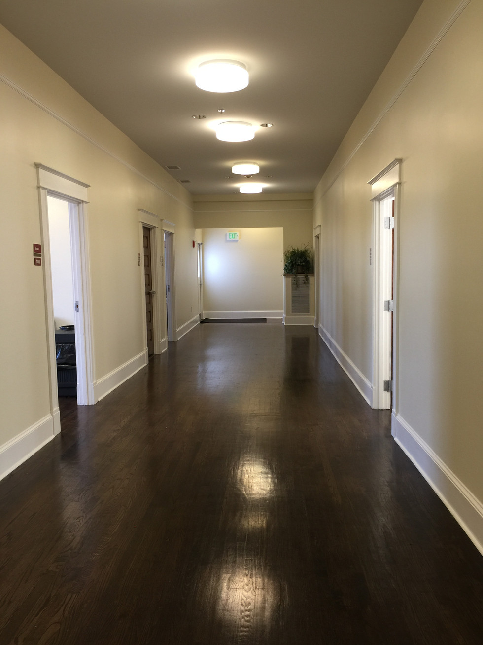 South Wing Hallway