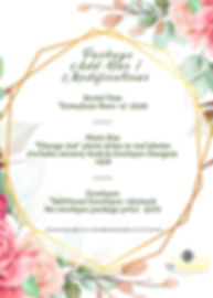 Back Copy of 2020 Wedding Package Flyer.