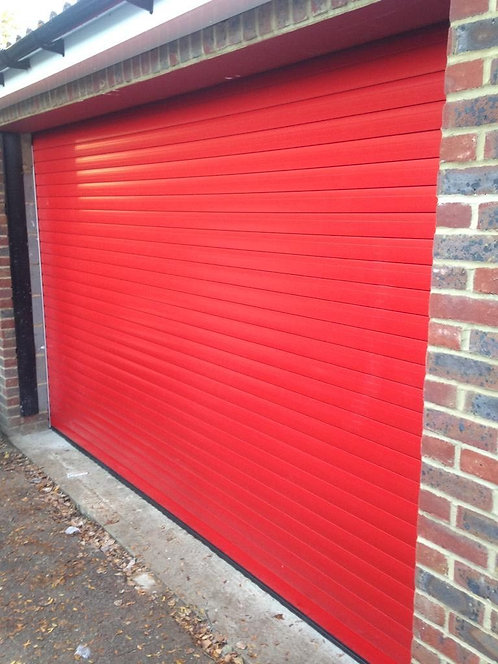 TWF77 Traffic Red up to 2700mm Width Delivered