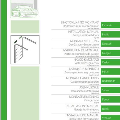 Install Manual High Lift Installation Se