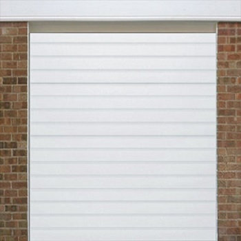 Up to 2250mm High - White Woodgrain RAL 9016 - S Ribbed