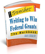 Writing to Win Federal Grants Workbook front cover imagee