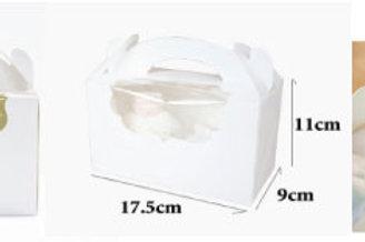 カップケーキ箱(2口)