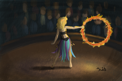 Lana the Fire Spinner