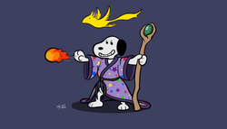 Sorcerer Snoopy