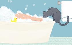 Ojdyn and the Bath
