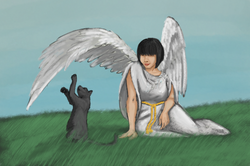 Playing with an Angel